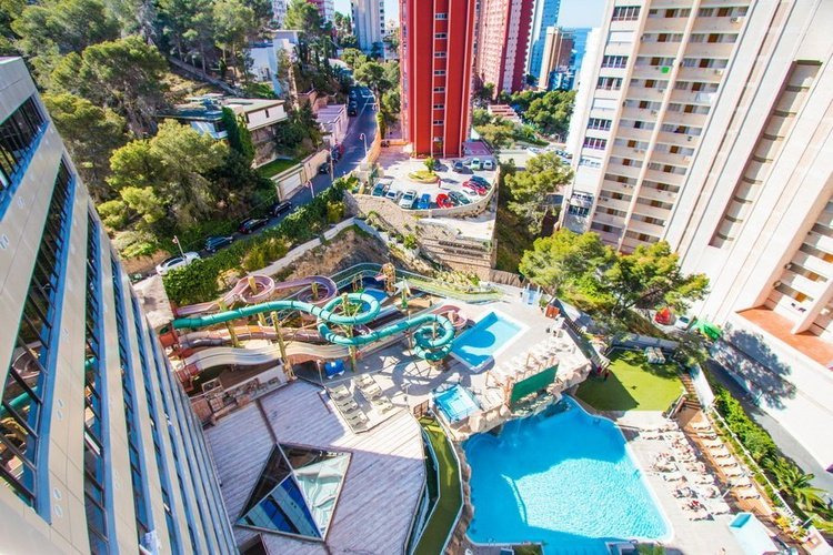 Panoramic view Magic Aqua™ Rock Gardens Benidorm