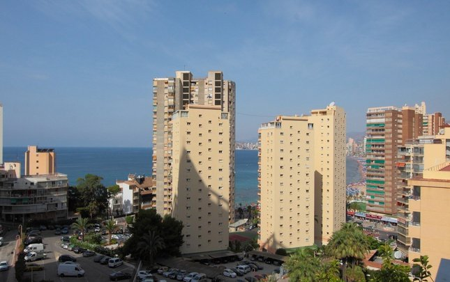 Room partial sea view magic rock gardens hotel benidorm