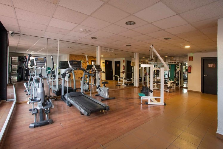 Gym magic rock gardens hotel benidorm